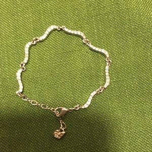 Swarovski crystal bracelet (and bonus ornament)